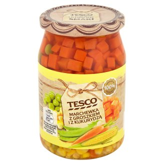 Tesco Carrot with Peas and Corn 700 g