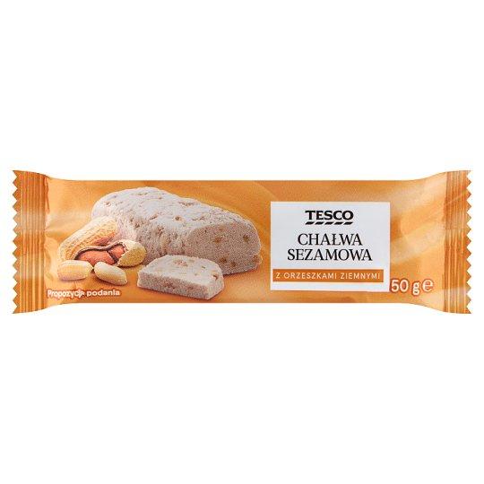 Tesco Sesame Halva with Peanuts 50 g