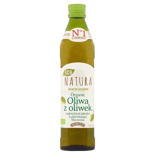 Borges Eco Natura Organic Oliwa z oliwek najwyższej jakości z pierwszego tłoczenia 500 ml