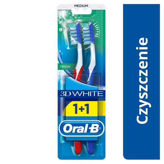 Oral-B Advantage 3DWhite Manualna szczoteczka do zębów, średnia, rozmiar 40