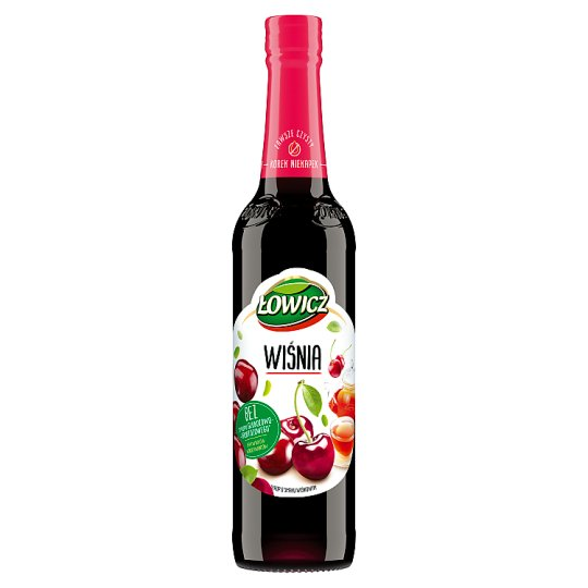 Łowicz Syrup with Cherry Flavour 400 ml