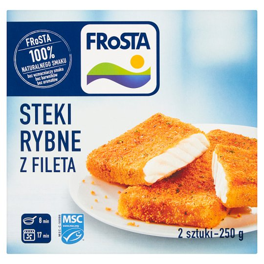 FRoSTA Fish Steaks from Fillet 250 g (2 Pieces)