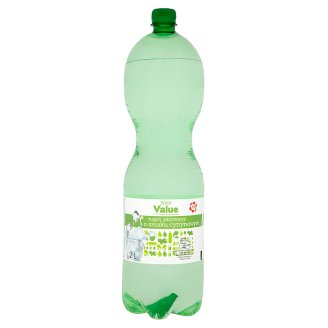 Tesco Value Lemon Flavour Carbonated Drink 2 L