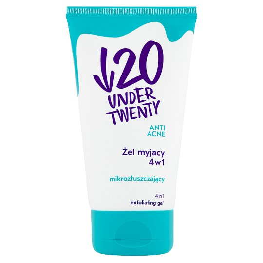 Under Twenty Anti Acne 4in1 Exfoliating Gel 150 ml