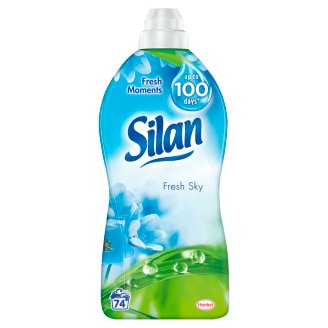 Silan Fresh Sky Fabric Conditioner 1850 ml (74 Washes)