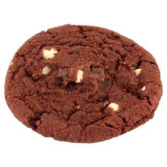 Ciemne ciastko z białymi i ciemnymi kawałkami czekolady 72 g