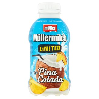 Müller Müllermilch Pinapple-Coconut Flavoured Milk Drink 377 ml