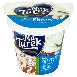 NaTurek Nasz Puszysty Creamy Fluffy Curd Cheese 140 g