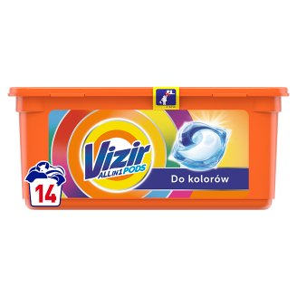 Vizir Color Kapsułki do prania o potrójnym działaniu 14prań