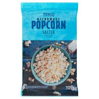 Tesco Microwave Popcorn Salted 100 g