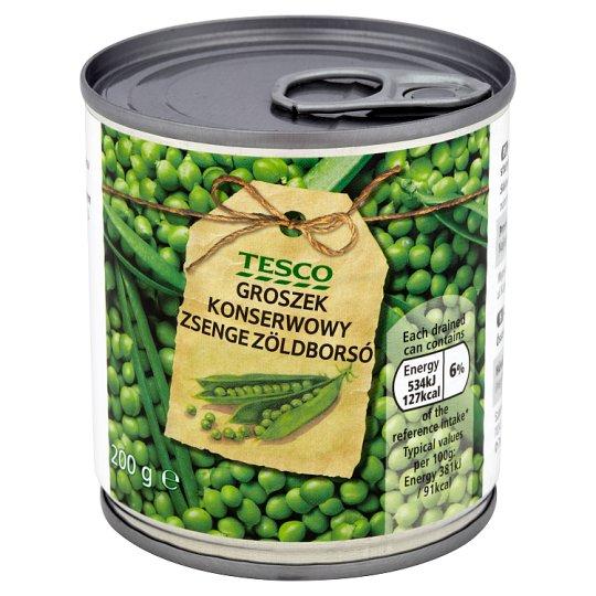 Tesco Green Peas 200 g