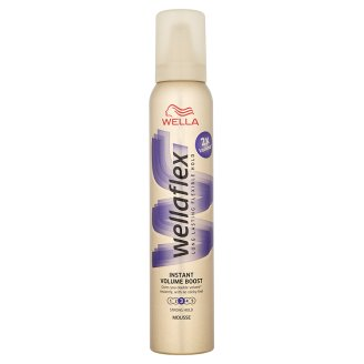 Wella Wellaflex Instant Volume Boost Strong Hold Hair Mousse 200 ml