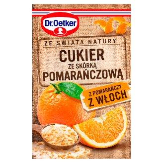 Dr. Oetker Ze świata natury Sugar with Orange Peel 15 g