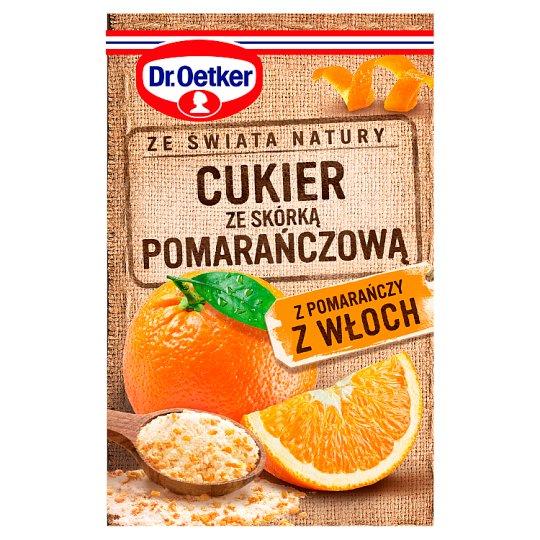 Dr. Oetker Ze świata natury Cukier ze skórką pomarańczową 15 g