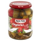 Rolnik Cucumbers with Chilli Pepper 650 g