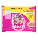 Whiskas Junior Selection of Poultry Dishes in Jelly Complete Cat Food 2-12 Months 400 g (4 Sachets)