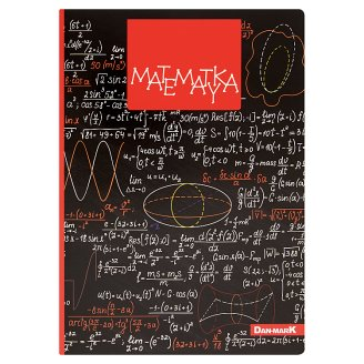 Dan-Mark Mathematics A5 60 Pages Subject Notebook