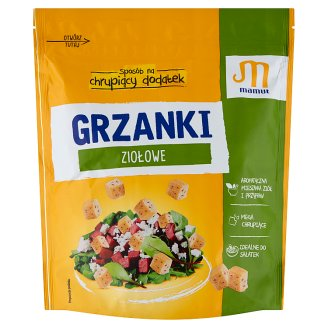 Mamut Croutons with Herbs 150 g