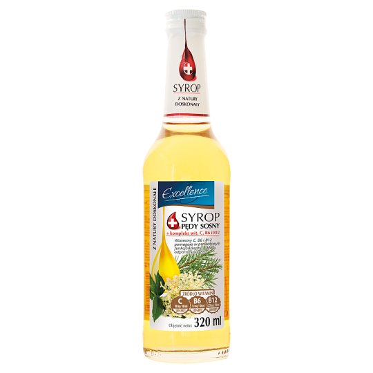 Excellence Syrop pędy sosny 320 ml