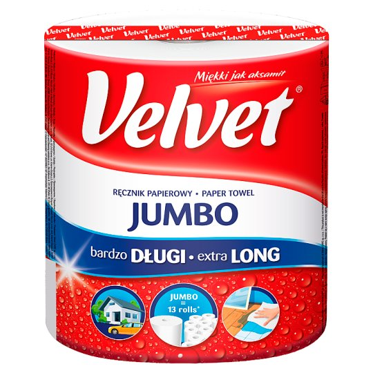 Velvet Jumbo Paper Towel