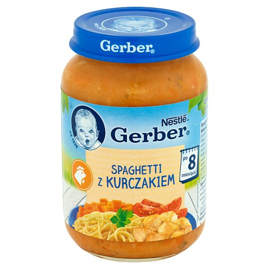 Gerber Spaghetti with Chicken after 8 Months Onwards 190 g