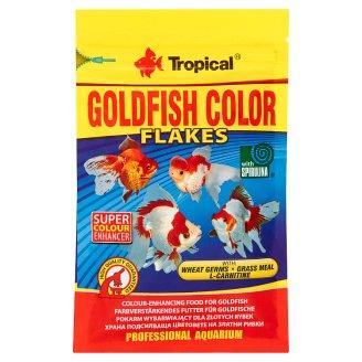 Tropical Goldfish Color Flakes Pokarm wybarwiający dla złotych rybek 12 g