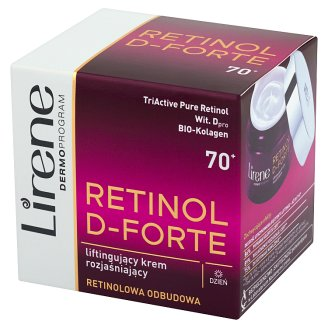 Lirene Retinol D-Forte 70+ Lifting Lightening Day Cream 50 ml