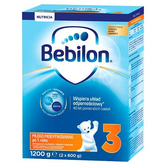 Bebilon 3 Pronutra-Advance Powdered Milk after 1 Year Onwards 1200 g (2 x 600 g)