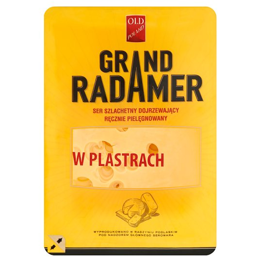 Old Poland Grand Radamer Sliced Cheese 135 g