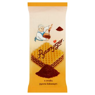 Vanilla and Cream Flavour Pysznyiger Wafer 140 g