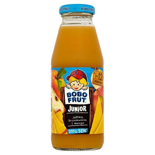 Bobo Frut Junior Apple Peach and Mango 100% Juice after 12 Months Onwards 300 ml