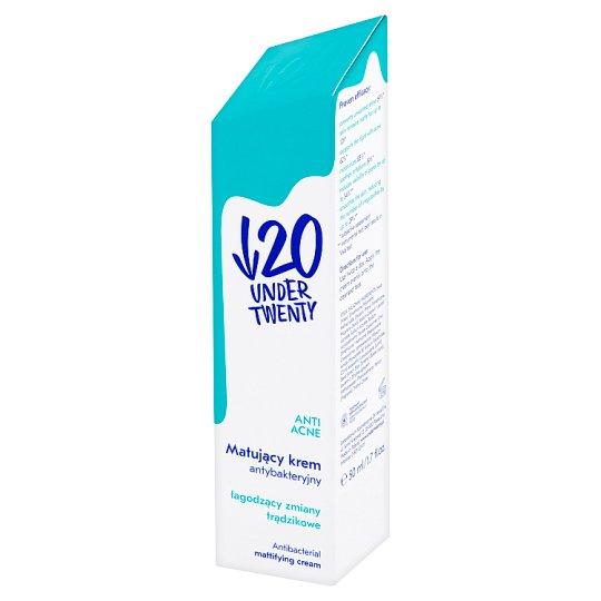 Under Twenty Anti Acne Matujący krem antybakteryjny 50 ml