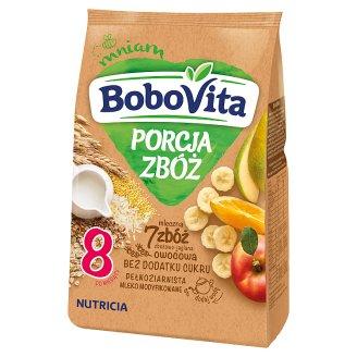BoboVita Porcja Zbóż 7 Grains Grain-Millet Milk Porridge Fruit after 8 Months Onwards 210 g