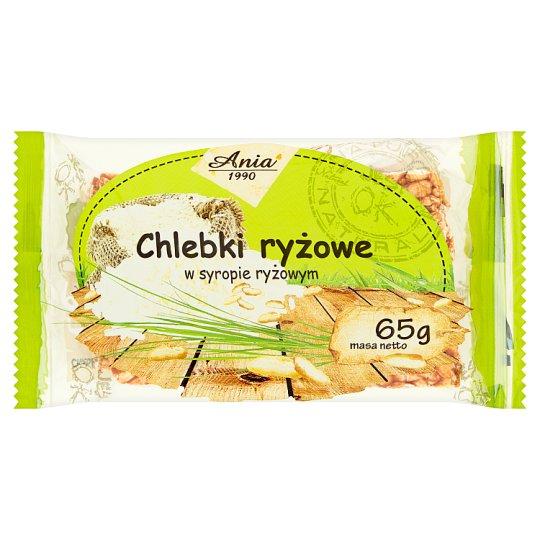 Ania Chlebki ryżowe w syropie ryżowym 65 g