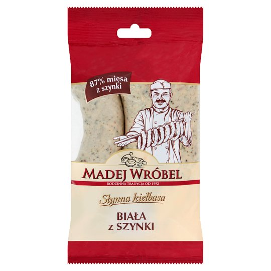 Madej Wróbel White Sausage with Ham 360 g