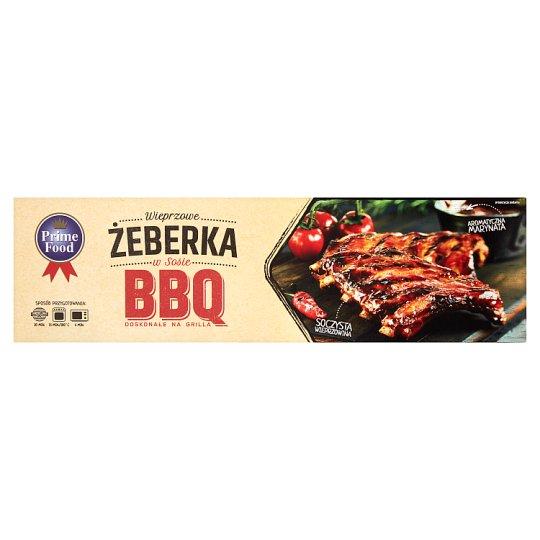 Prime Food Pork Ribs in BBQ Sauce 600 g