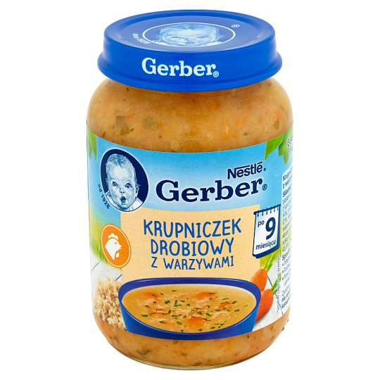 Gerber Poultry Barley Soup with Vegetables after 9 Months Onwards 190 g