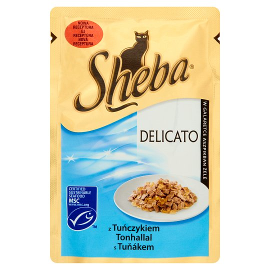 Sheba Delicato in Jelly with Tuna Complete Pet Food 85 g