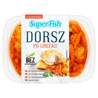 SuperFish Dorsz po grecku 150 g