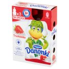 Danone Danonki Strawberry Yoghurt 210 g (3 x 70 g)