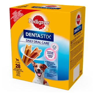 Pedigree DentaStix Mini Supplementary Food for Adult Dogs 440 g (28 Pieces)