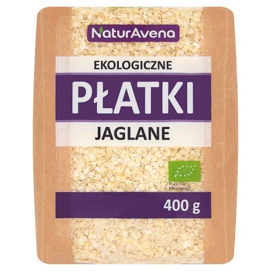 NaturAvena Ekologiczne płatki jaglane 400 g
