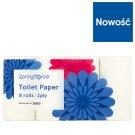 Springforce Toilet Paper 8 Rolls