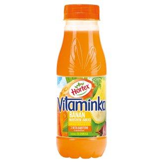 Hortex Vitaminka Banan marchewka jabłko Sok 300 ml