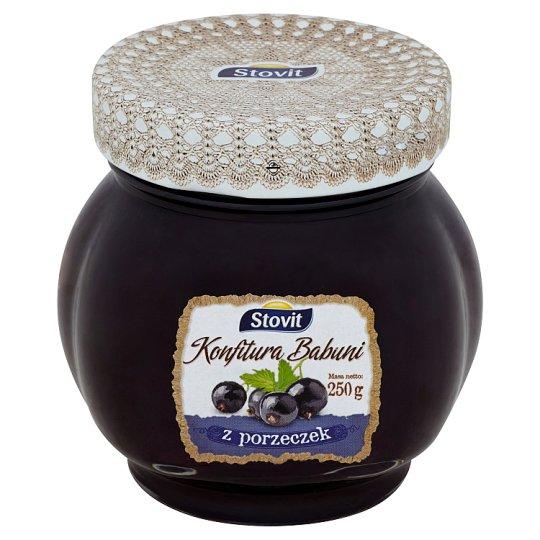 Stovit Konfitura Babuni Currant Jam 250 g