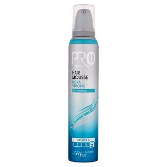 Tesco Pro Formula Ultra Strong Hair Mousse 200 ml