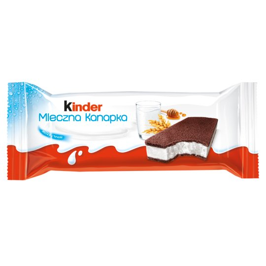 Kinder Milk Sandwich Sponge Cake with Milk Filling 28 g