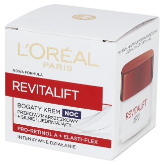 L'Oreal Paris Revitalift Strongly Firming Anti-Wrinkle Rich Night Cream 50 ml