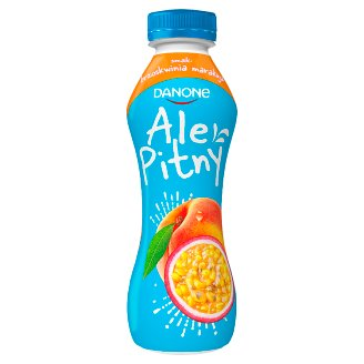 Danone ale Pitny Peach and Passion Fruit Yoghurt Drink 290 g