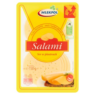 Mlekpol Salami Sliced Cheese 150 g